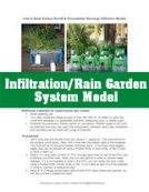 Inflitration/Rain Garden System Model