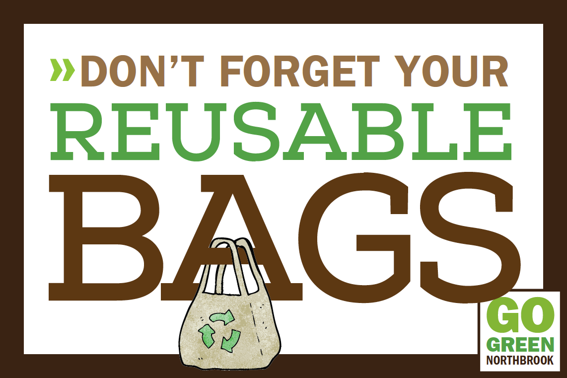 Don't forget your reusable bags